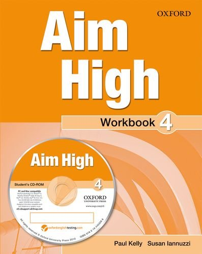 9780194453271: Aim High Level 4 Workbook & CD-ROM: A new secondary course which helps students become successful, independent language learners