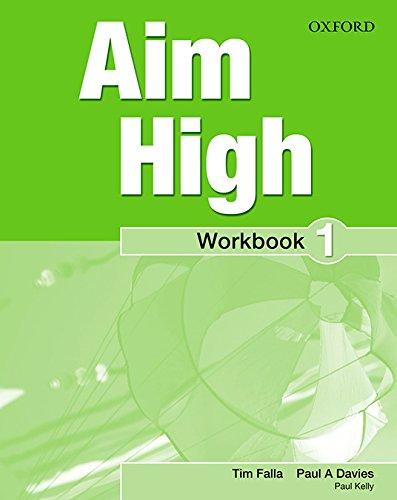 9780194453806: Aim High: Level 1: Workbook with Online Practice
