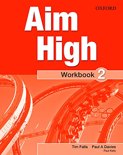 9780194453851: Aim High: Level 2: Workbook with Online Practice