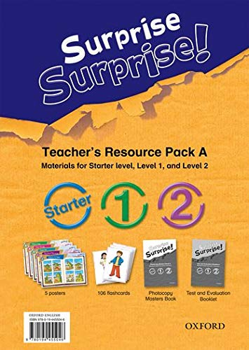 9780194455046: Surprise Surprise!: A (Starter, Level 1 and 2): Teacher's Resource Pack