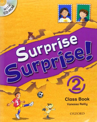 9780194455237: Surprise Surprise!: 2: Class Book with CD-ROM