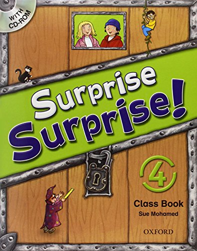 9780194455336: Surprise Surprise!: 4: Class Book with CD-ROM