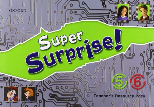 9780194456395: Super Surprise!: 5-6: Teacher's Resource Pack