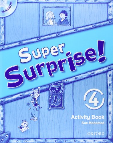 9780194456661: Super Surprise!: 4: Activity Book and MultiROM Pack