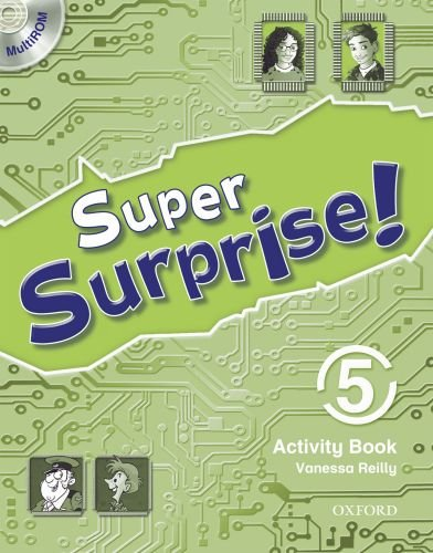 9780194456678: Super Surprise!: 5: Activity Book and MultiROM Pack
