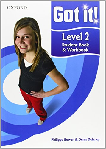 9780194462174: Got it! Level 2 Student Book and Workbook with CD-ROM: A four-level American English course for teenage learners