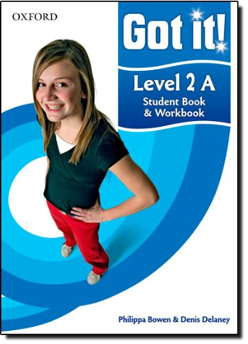 9780194462440: Got it! Level 2 Student Book A and Workbook with CD-ROM: A four-level American English course for teenage learners