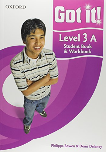 9780194462464: Got it! Level 3 Student Book A and Workbook with CD-ROM: A four-level American English course for teenage learners