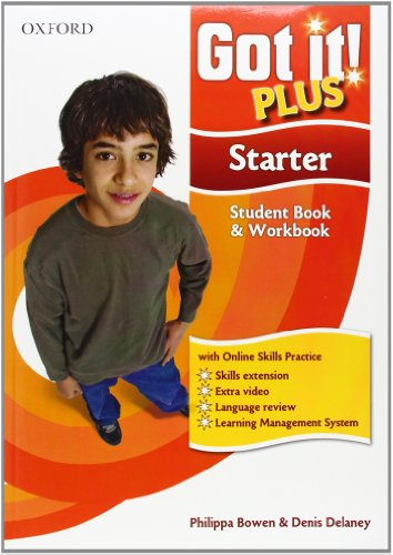 9780194462938: Got It! Plus: Starter: Student Pack: A Four-level American English Course for Teenage Learners