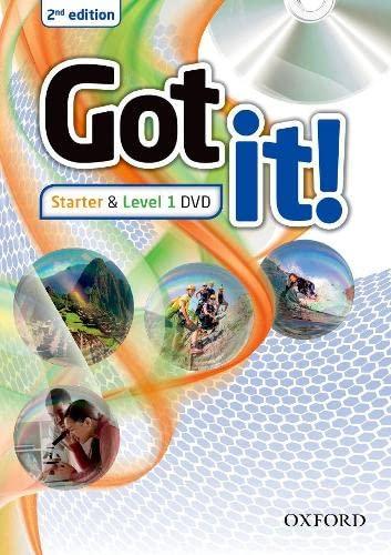 9780194463171: Got it!: Starter & Level 1: DVD [VHS]