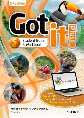 9780194463232: Got It! Plus (2nd Edition) Starter. Studen's Book + Workbook with CD Pack (Got It Second Edition)