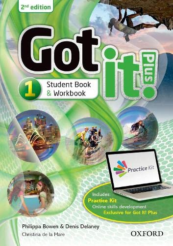 9780194463492: Got it! Plus: Level 1: Student Pack: Get it all with Got it! 2nd edition!