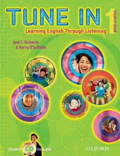 9780194471008: Tune In 1 Student Book with Student CD: Learning English Through Listening (Tune In Series)