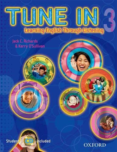 9780194471169: Tune In 3 Student Book with Student CD: Learning English Through Listening (Tune In Series)