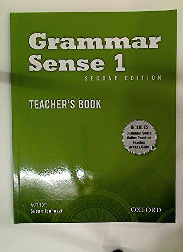 9780194489386: Grammar Sense 1 Teacher's Book with Online Practice Access Code Card