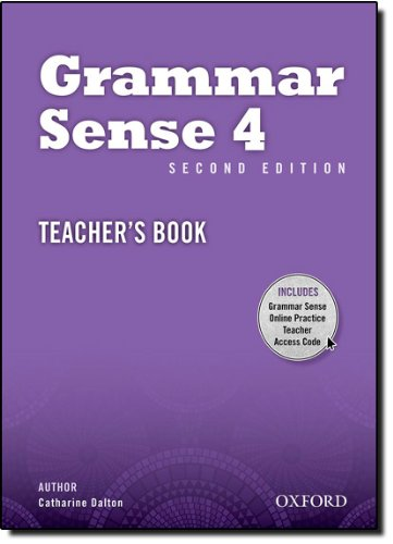 9780194489416: Grammar Sense: 4: Teacher's Book with Online Practice Access Code Card