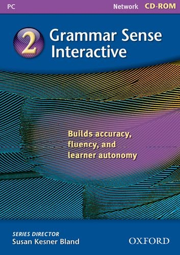 9780194490016: Grammar Sense: 2: Network version: Interactive CD-ROM Level 2