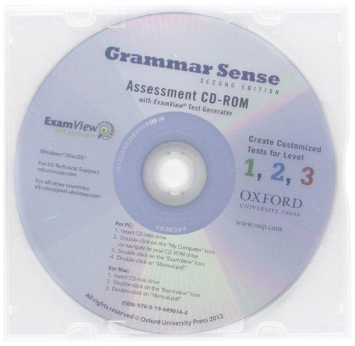 9780194490344: Grammar Sense (levels 1-3):: Assessment CD-ROM