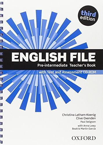 9780194500326: English file digital. Pre-intermediate: textbook + test assessment cd-rom. 3rd edition
