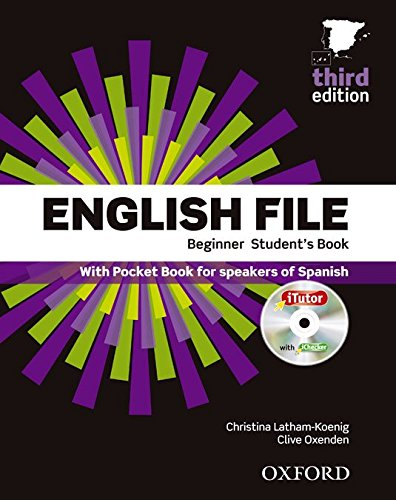 9780194501538: English File 3rd Edition Beginner Student's Book + Workbook without Key Pack (English File Third Edition)