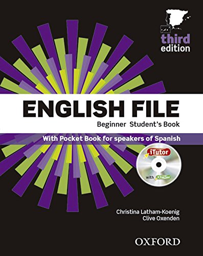 9780194501545: English File 3rd Edition Beginner Student's Book+Itutor+Pb Pack (English File Third Edition)