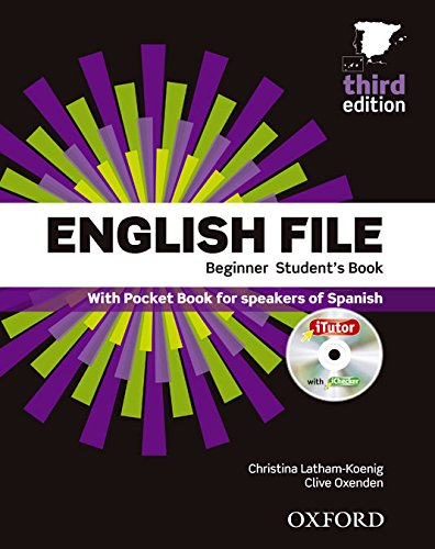 9780194501606: English File Beginner 3rd Edition, Student's Book and Workbook with key Pack (English File Third Edition)