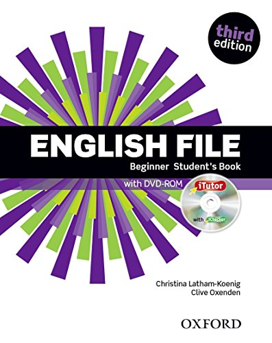 9780194501835: English File Beginner Student's Book (1DVD)