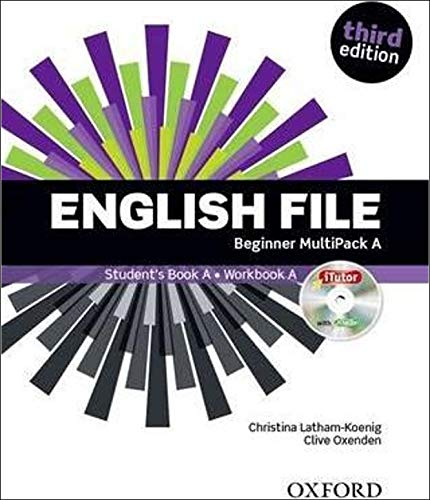 9780194501897: English File: Beginner: MultiPACK A with iTutor and iChecker