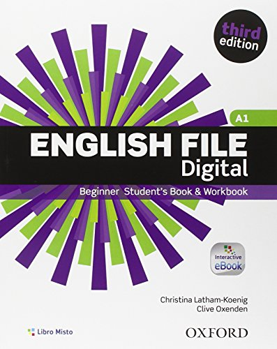 9780194501972: English File Third Edition Beginning. Con Student's Book & Workbook. Chiave. eBook. Oxford Online Skills Program