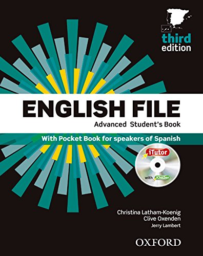 9780194502160: English File 3rd Edition Advanced. Student's Book + Workbook with Key Pack (English File Third Edition)
