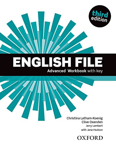 9780194502177: English File Advanced. Workbook with Key 3rd Edition