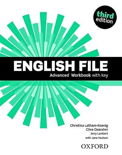 9780194502177: English File: Advanced: Workbook with Key