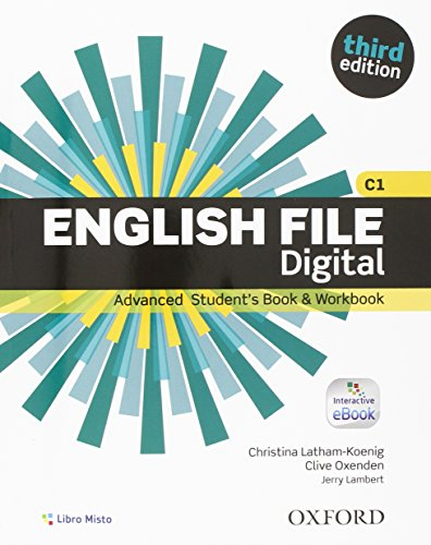 9780194502184: English File Third Digital Advanced. Con Entry Checker. Student's Book & Workbook. Chiave. eBook