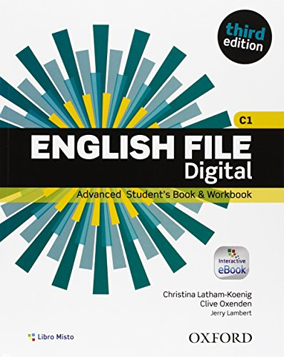 9780194502245: English File Third Digital Advanced. Con Entry Checker. Student's Book & Workbook. eBook