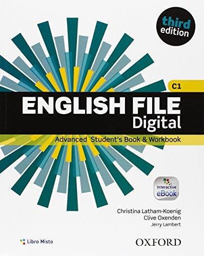 9780194502245: English file. Advanced. Student book-Work book. Without key. Per le Scuole superiori. Con e-book. Con espansione online