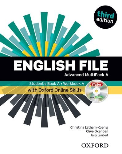 9780194502412: English File: Advanced: MultiPACK A with Online Skills: The best way to get your students talking