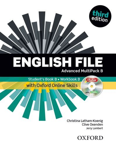 9780194502436: English File: Advanced: MultiPACK B with iTutor and Online Skills