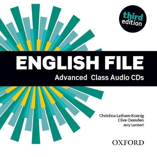 9780194502528: English File Third Advanced: Class Audio CD
