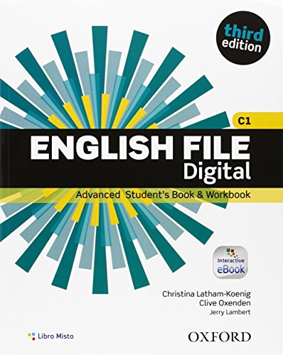 9780194502535: English file digital. Advance. Student's book-Workbook-Key. Per le Scuole superiori. Con e-book. Con espansione online