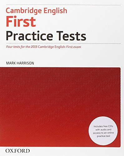9780194502825: Cambridge English First Practice Test Pack (Italy)