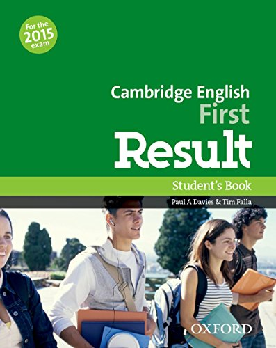 9780194502849: Cambridge English: First Result: Student's