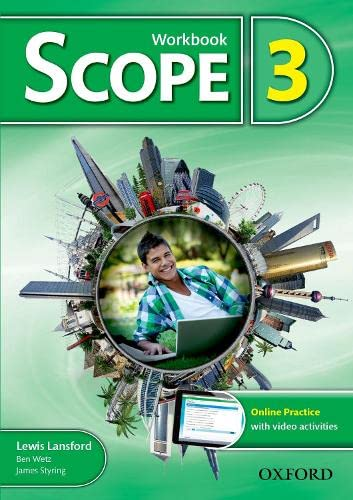 9780194506304: Scope: Level 3: Workbook with Online Practice (Pack)