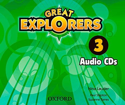 9780194507462: (CLASS CD).GREAT EXPLORERS 3ºPRIM.(3 CD'S)
