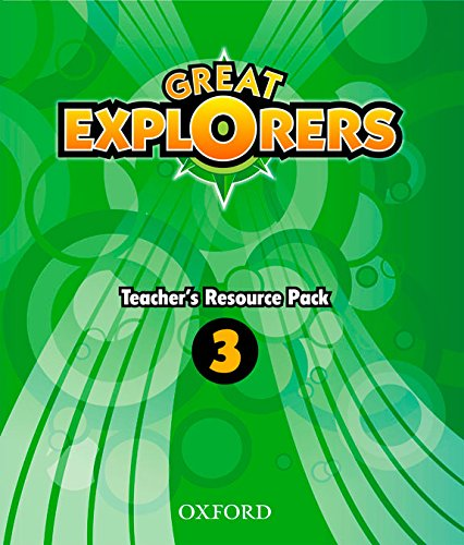9780194507486: (TCHS).(14).GREAT EXPLORERS 3 (TEACHER RESOURCE)