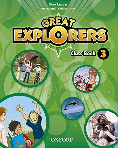 9780194507493: Great Explorers 3 CB Pk