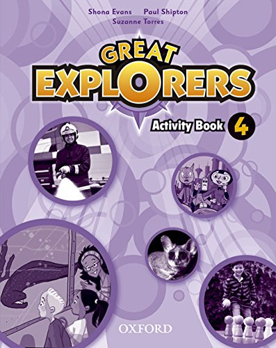 9780194507608: Great Explorers 4: Activity Book - 9780194507608