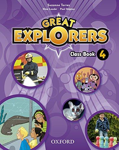 9780194507684: Great Explorers 4 CB Pk