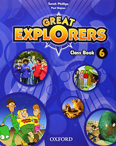 9780194507974: Great Explorers 6 CB