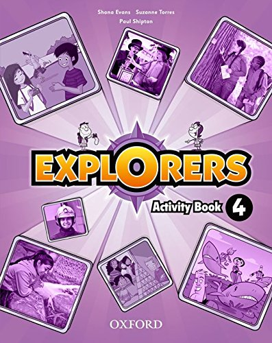 9780194509091: Explorers 4. Activity Book - 9780194509091