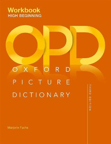 9780194511223: Oxford Picture Dictionary Third Edition: High-Beginning Workbook